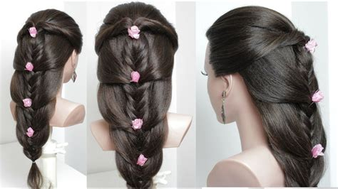 cute easy hairstyles for long hair tutorial