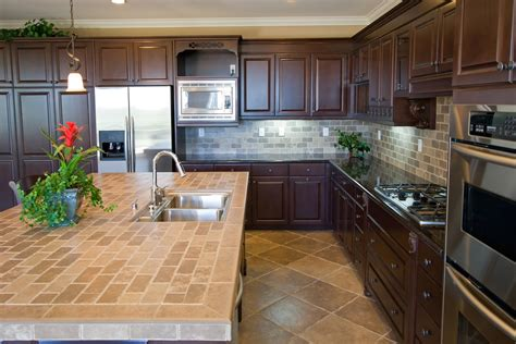 kitchen countertop tile design ideas tile countertop kitchen backsplash design ideas kitchentoday