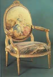 fauteuil louis philippe ancien style louis xv