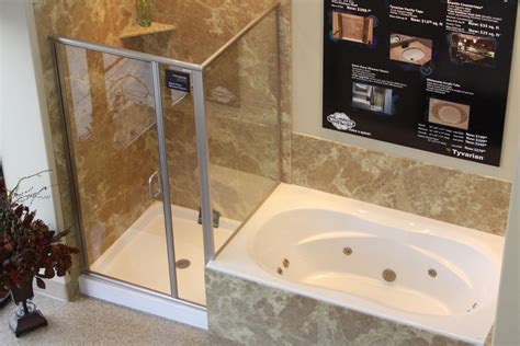 Soaker Tub Shower Combination by Tub Shower Combo Ideas Home Design Ideas