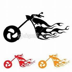 motorcycle clipart harley of Motorbikes Choppers