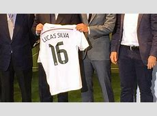 Picture Real Madrid unveil Lucas Silva's number