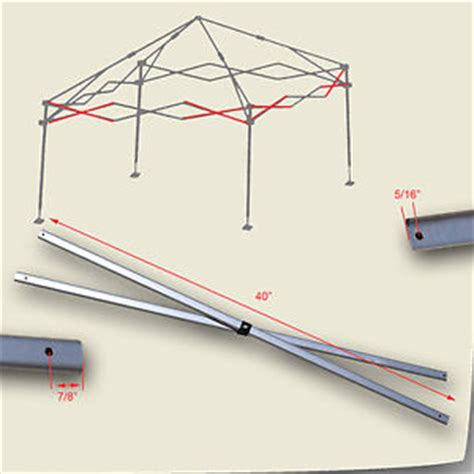 quest canopy replacement parts quik shade weekender elite 10 x 10 canopy side truss bar