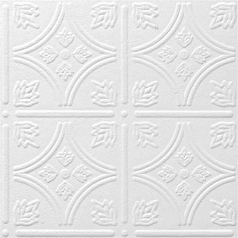 Lowes Canada Tin Ceiling Tiles by Shop Armstrong 40 Pack 12 In X 12 In Tin Look Tintile
