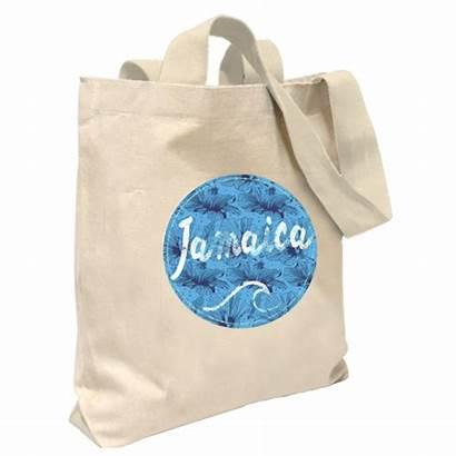 Circle Canvas Wave Tote Natural Ja Bag
