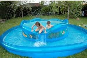 Piscine gonflable photos et images vacances arts for Petite piscine rectangulaire gonflable 11 piscine pour petit jardin arts et voyages