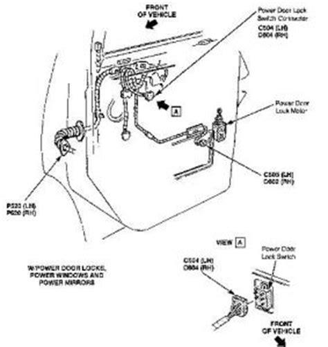 1992 Gmc 1500 Door Wiring by 1995 Chevy Astro Power Door Locks My Power Door Locks