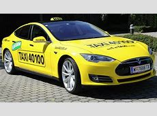 Now You Can Ask for a Tesla Model S Taxi in Vienna
