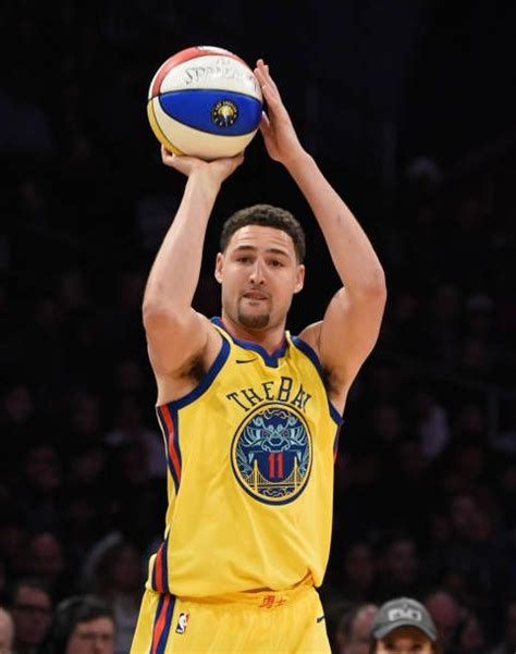 nba player klay thompson   golden state warriors