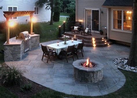 A Classic Outdoor Living Solution Stone Patios For Many