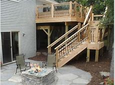 Deck Stairs and Steps Outdoor Design Landscaping Ideas
