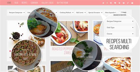 food factory food recipes cookbook wordpress theme