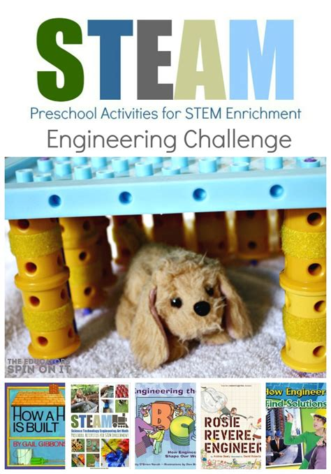 simple and steam activities for preschoolers the 903 | Engineering2Bchallenge