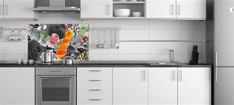 cuisine fond blanc idée credence cuisine noir et blanc crédences cuisine
