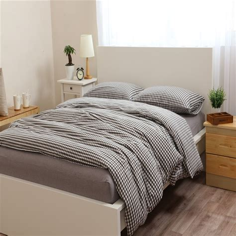 Black And White Single Duvet Cover by Small Black And White Lattice Pattern Bedding Sets Duvet