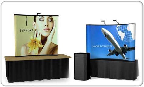 table top exhibit displays tabletop trade show pop