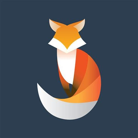 ideas  geometric fox  pinterest fox