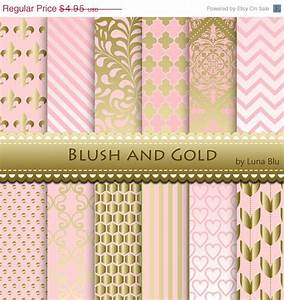 Blush Pink and Gold Wallpaper - WallpaperSafari