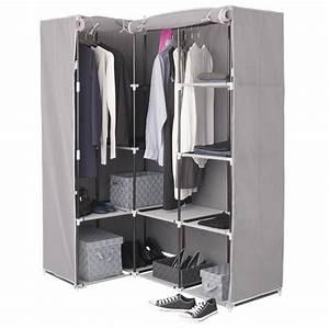 Armoire D Angle : armoire d 39 angle 1 penderie 10 tag res les douces nuits de ma linge de maison ~ Teatrodelosmanantiales.com Idées de Décoration