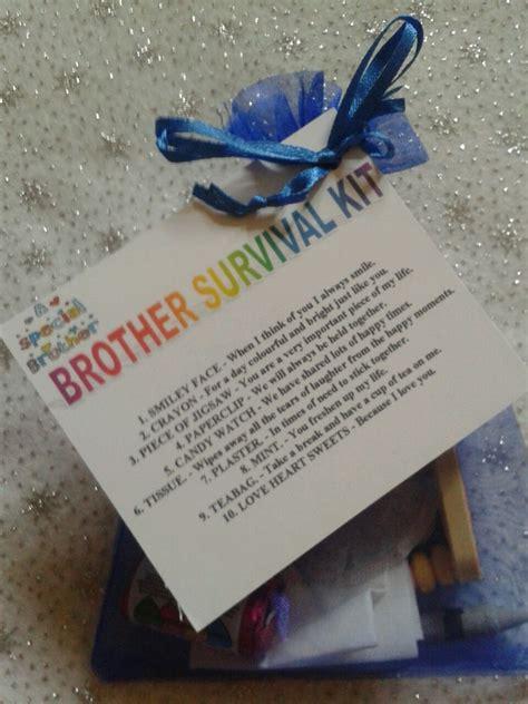 brother survival kit novelty keepsake christmas birthday