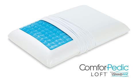 beautyrest memory foam pillow comforpedic loft by beautyrest memory foam pillow