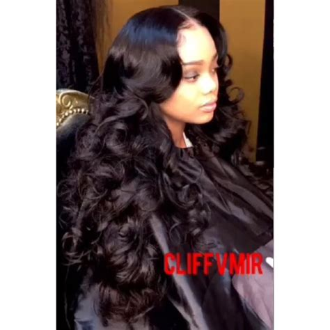 Middle Part Sew In Hairstyles by Middle Part Sew In With Curls Hair Slayed Waves