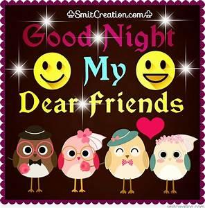 Good Night MY Dear Friends - SmitCreation.com