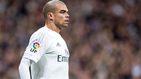 Pepe di Real Madrid Sampai 2018