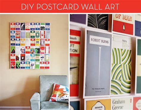 January 19, 2017 by lucy clare spooner in charlottesville, diy. Make It: DIY Postcard Wall Art » Curbly   DIY Design & Decor
