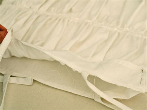 sew ruched fabric pillow shams hgtv