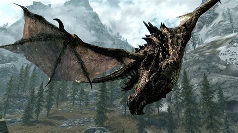 skyrims magnificent dragons  created