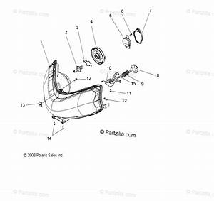Polaris Snowmobile 2008 Oem Parts Diagram For Electrical