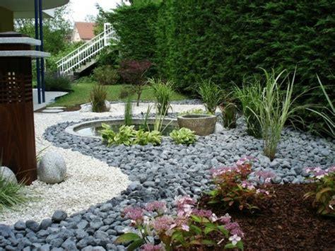 Mit Steinen by 1001 Ideen Zum Thema Blumenbeet Mit Steinen Dekorieren