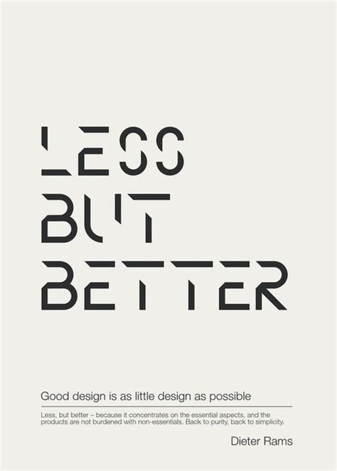less is better quotes