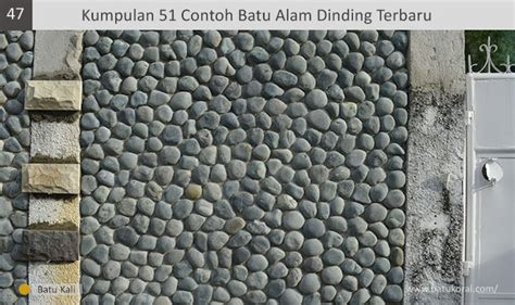 kumpulan  contoh batu alam dinding terbaru  jual