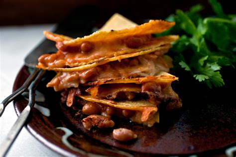 baked bean  cheese quesadillas recipe nyt cooking