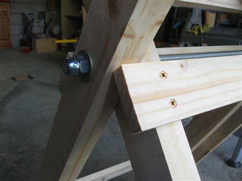 comment fabriquer du speed maison comment fabriquer un chevalet de sciage de conception de maison