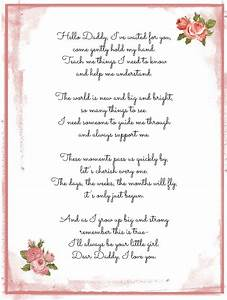 a Daddy-Daughter poem | darling words for life | Pinterest ...