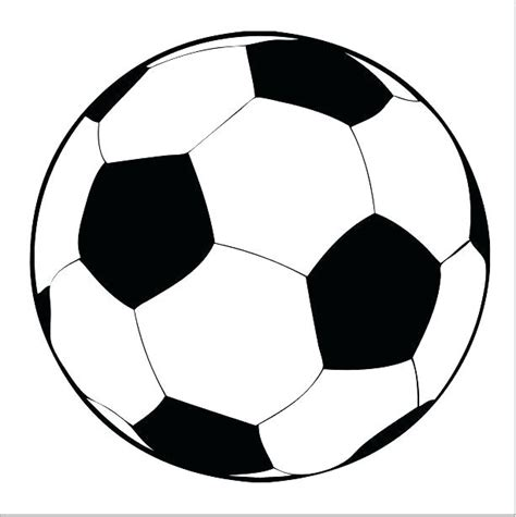 soccer ball cake template printable