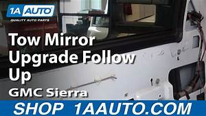 Tow Mirror Upgrade Follow Up Silverado Sierra Tahoe Yukon