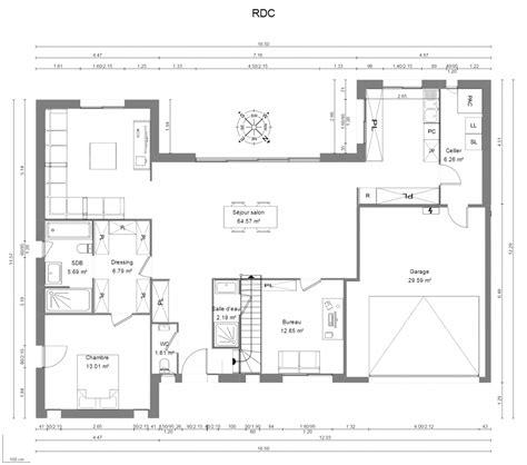 plan maison moderne 3 chambres constructeur maison d 39 architecte maisons héraud