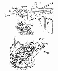 Dodge Neon Support  Engine Mount  Automatic Transaxle