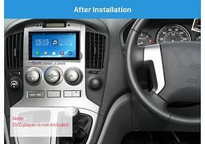 Argent 2din 2010 Hyundai H1 Starex Car Stereo Radio Fascia