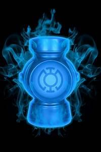 Firey Blue Lantern Battery by KalEl7 on DeviantArt