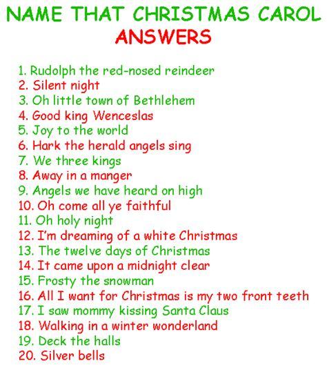 Name That Christmas Carol  Free Christmas Games Ornamentshopcom