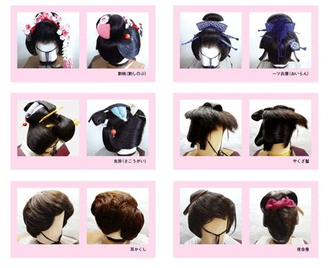 traditional japanese hairstyles google search cosplay