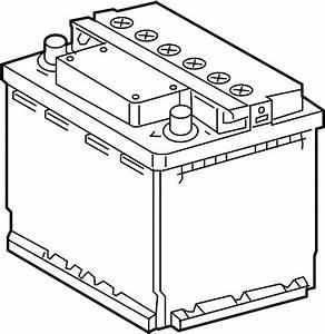 Toyota Prius Vehicle Battery - 2880021050