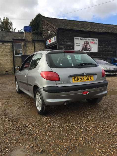 Peugeot 206 For Sale by Peugeot 206 1 4 Diesel Lx For Sale Cambridge Station
