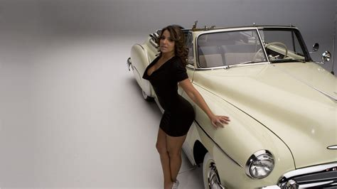 Vida Guerra, Cadillac, Car, Women With Cars Wallpapers Hd