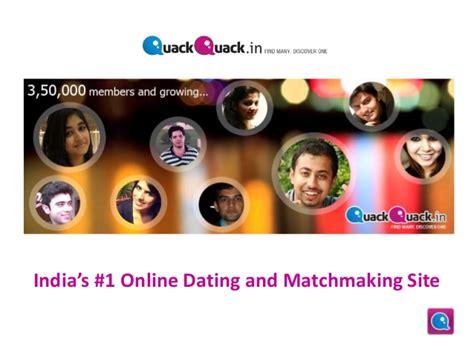 Online Dating Site For Indian Singles  Quack Quack